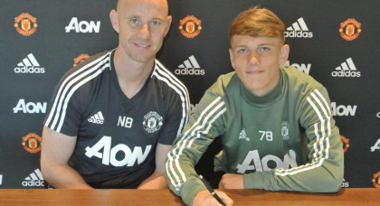 United sign talented young midfielder